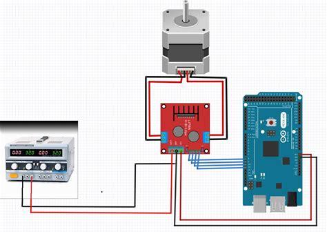 arduino code to control stepper motor how to control a nema 17 stepper motor with an arduino
