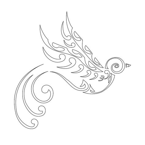 swallow tribal tattoo tribal flower tattoos maori stenciljpg
