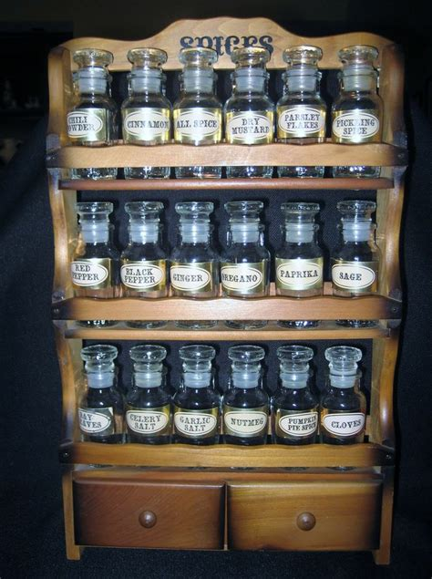 Spice Rack For Large Bottles Pin By Janel On Spice Rack Redos