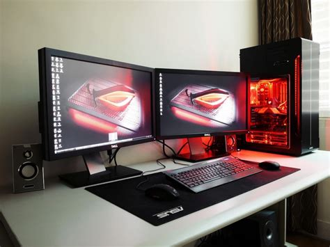 computer themes setup pro gamer setup pc setup pinterest the white gaming