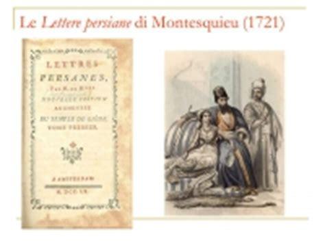 lettere persiane le lettere persiane della genesi rsu di montesquieu