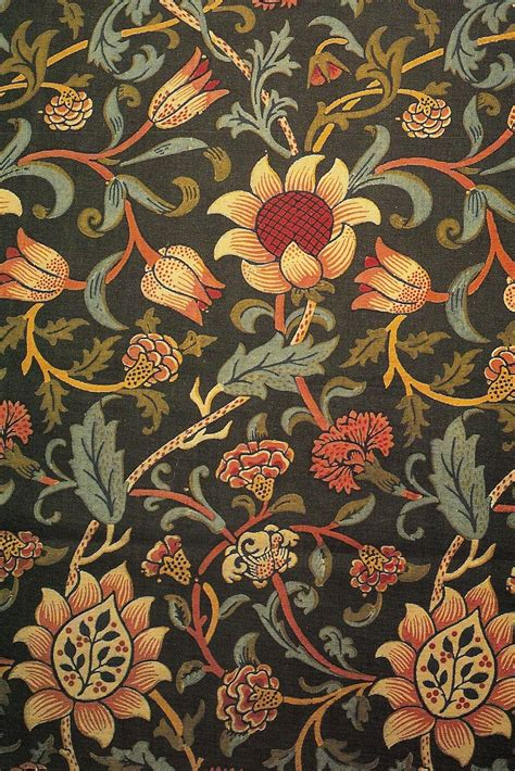 design art textile buttsville william morris
