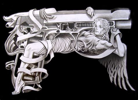 trigger happy tattoo franke illustrator trigger happy