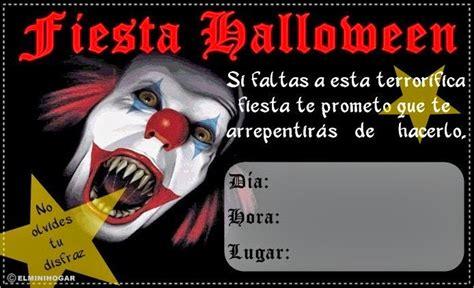 imagenes de halloween para invitaciones gifs y fondos pazenlatormenta tarjetas de invitaciones a