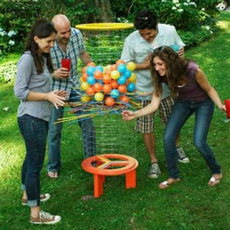 backyard kerplunk game giant kerplunk for parties party ideas pinterest