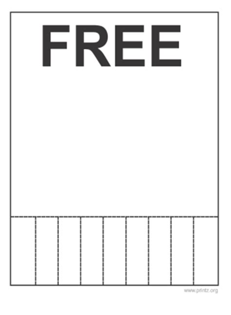 free printable flyers free flyer