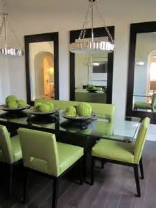 Mirror In The Dining Room - blog exclusive mirrors