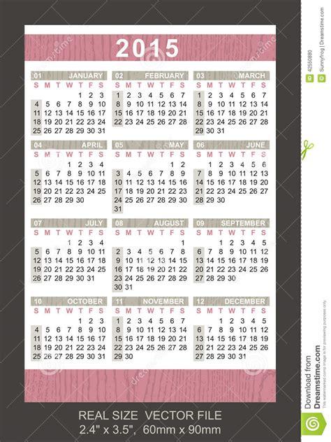 Calendario Cartera 2015 Calend 225 2015 Do Bolso Come 231 O Em Domingo Ilustra 231 227 O Do