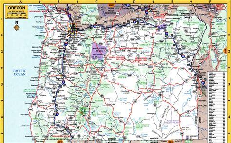 map of oregon parks national parks of oregon state