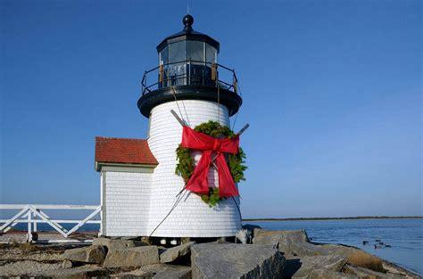 lighthouse pools christmas lights nantucket noel stroll