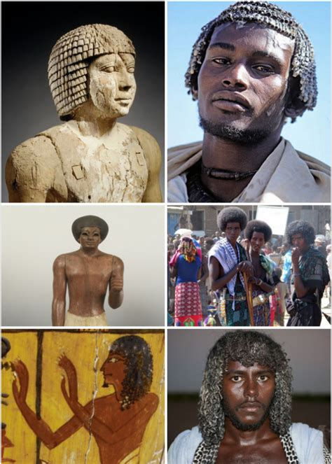 information on egyptain hairstlyes for and vanilla is not white origins of white and black people