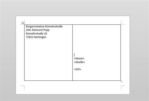 Word Vorlage Briefumschlag Anleitung Einen Briefumschlag In Word Richtig Einstellen Programmierer Office 365