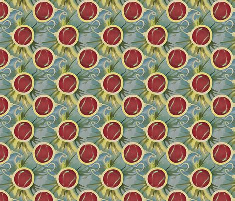batik ornament wallpaper red batik ornaments fabric lauriekentdesigns spoonflower