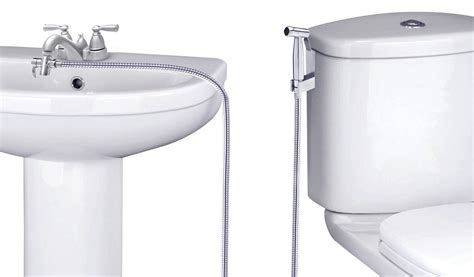Water Toilet Bidet by Smarterfresh Faucet Sprayer Warm Water Bidet