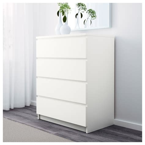 kommode 140 x 100 malm chest of 4 drawers white 80x100 cm ikea
