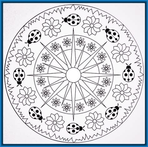 imagenes de mandalas para niños las mejores mandalas para ni 241 os de primaria dibujos de