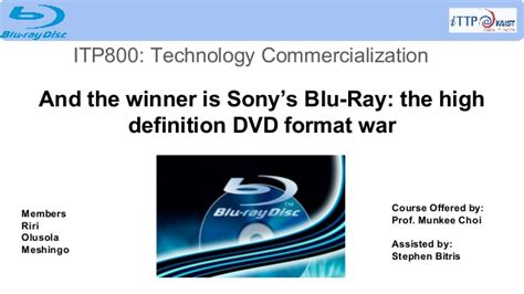 format video bluray case study and the winner is sony s blu ray the high