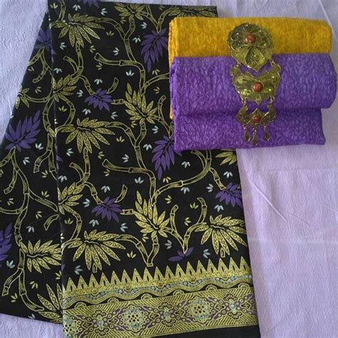 Kain Batik Prada Pekalongan Motif Songket Set Embos Warna Biru kain batik pekalongan batik prada kombinasi embos p2 4 batik pekalongan by jesko batik