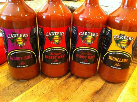 Bloody Mix Shelf by Carters Select Products Llc Our Drink Mixers