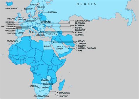 emea region emea countries
