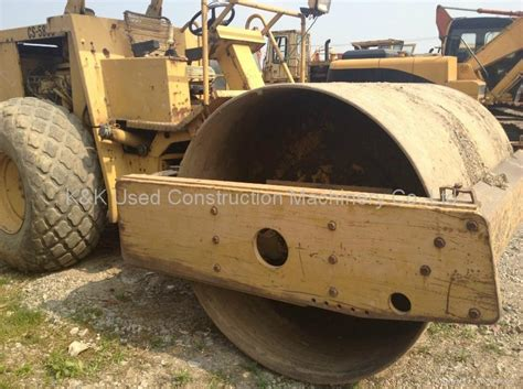 vibratory roller cat583c used road roller used cat583c