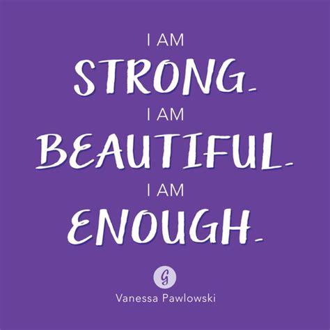 strong   beautiful    vanessa