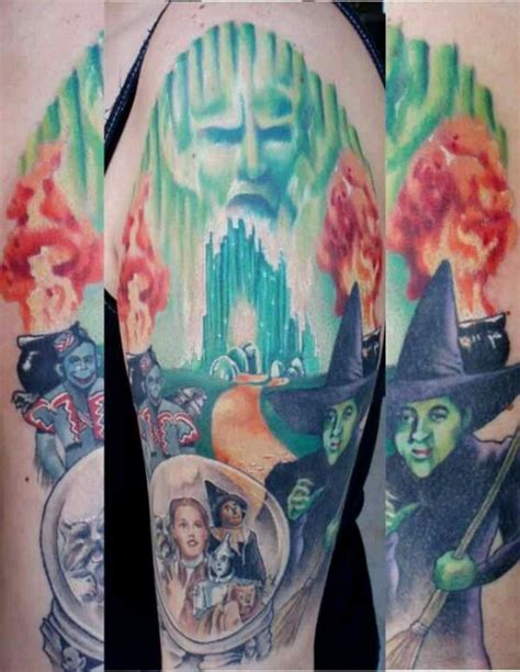 wizard of oz tattoos discover and save creative ideas