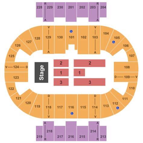pensacola bay center seating capacity pensacola bay center tickets seating charts and schedule