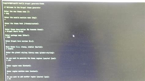 drupal theme header drupal 8 theme generation and development intro using the