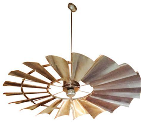 rustic windmill ceiling fan unique windmill ceiling fan 66 quot galvanized silver