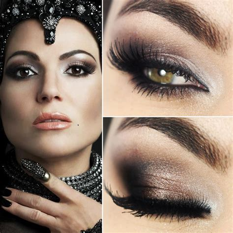 hair and makeup regina tutorial maquiagem inspirada em regina evil queen de