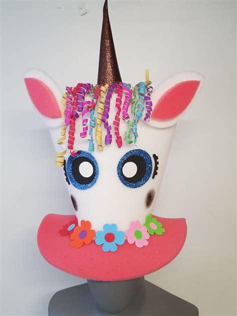 imagenes de unicornios locos sombrero de unicornio en hule espuma 70 00 en mercado