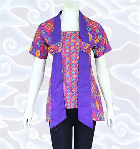 Atasan Belt Blouse Polos Baju Sabuk Kepang 57 best batik images on
