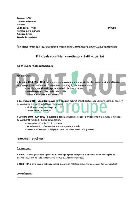 Exemple De Lettre De Motivation Jardinier Modele Cv Paysagiste Gratuit Cv Anonyme