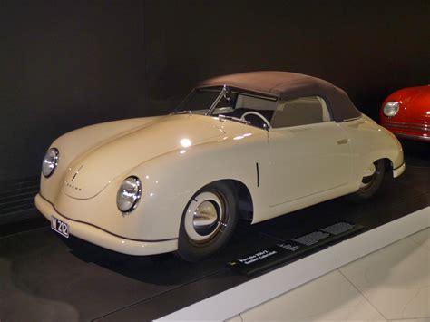 porsche gmund file porsche 356 2 gmuend cabriolet 1949 frontleft 2010 03