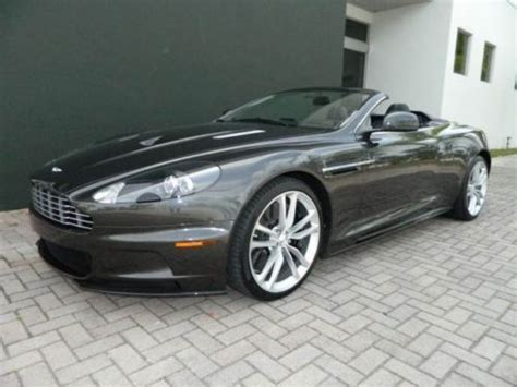 Aston Martin Warranty by Find Used 2011 Aston Martin Dbs Volante Convertible W