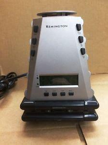remington nc 100 alarm clock with nature sounds light and aromatherapy