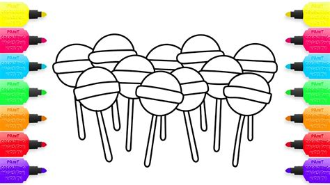 lollipop coloring pages lollipop coloring page pencil and in color