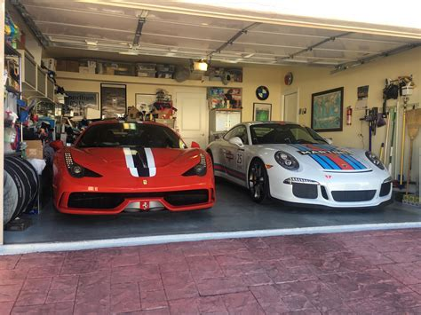 These Beautiful Porsche Garages Us Want To Move In