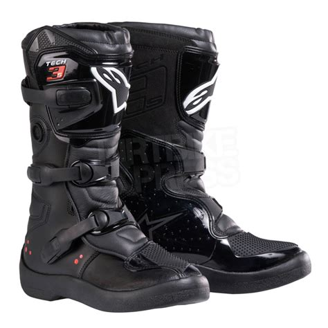 tech 3 motocross boots alpinestars tech 3 s youth boots black