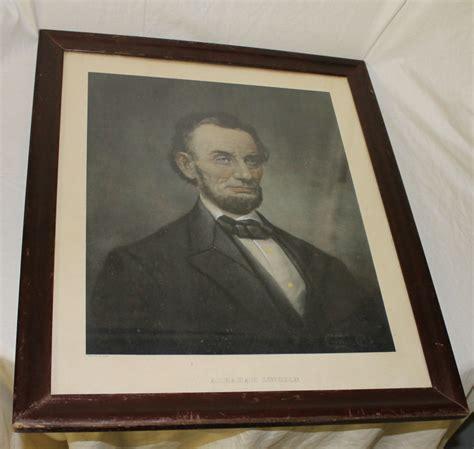 1907 antique president portrait abraham lincoln fine art bargain john s antiques 187 blog archive portrait of