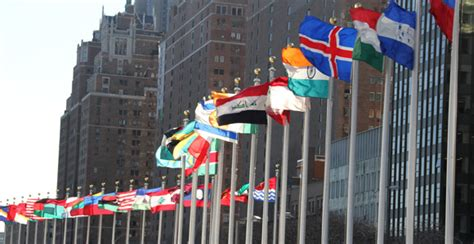 flags of the world new york city church s humanitarian efforts making a difference