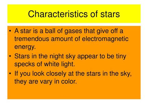 characteristics of sectionalism ppt chapter 30 section 1 characteristics of stars pages