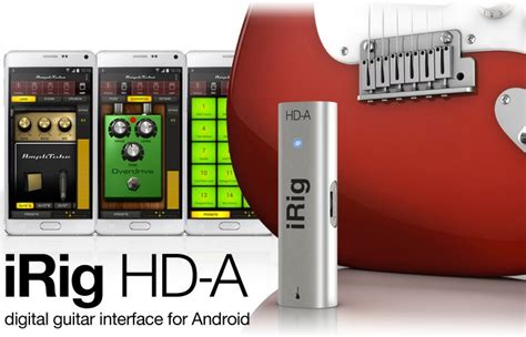 irig for android irig hd a digital guitar interface for android launches for 100