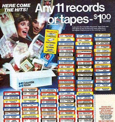 Columbia House Files For Bankruptcy Something Is Very