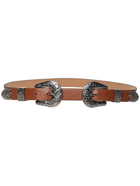 Faux Leather Buckle Belt brown faux leather buckle belt choies