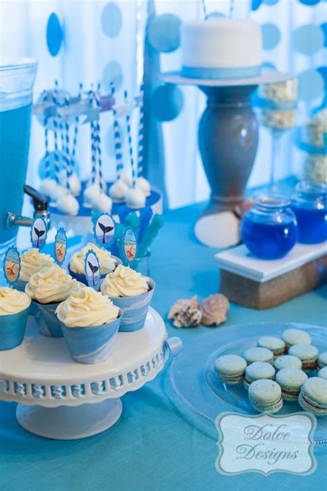 party themes with blue under the sea birthday party birthday party ideas themes