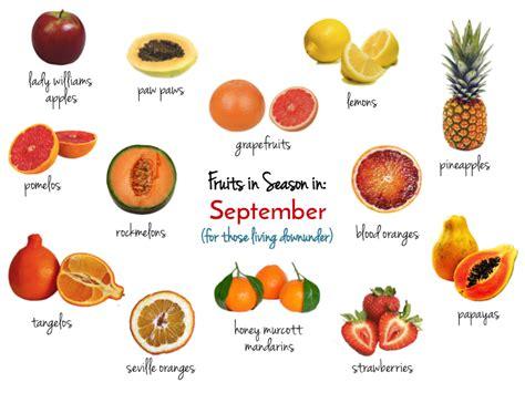 fruit seasons fruits vegetables in season this september in sydney