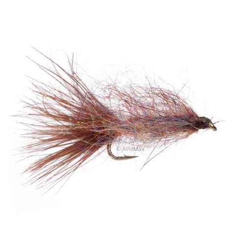 brown leech pattern umpqua goat leech canadian brown fly fishing streamers
