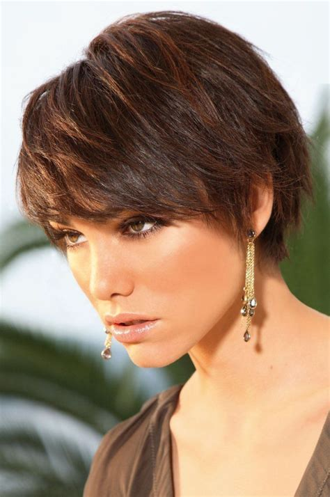 short brunette hairstyles front and back 2014 trendy hair styles front and back images